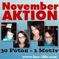 30 Tage - 1 Gesicht - November 08 - Aktion von Her-Life.com