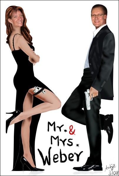 Mr. & Mrs. Weber Gemalt