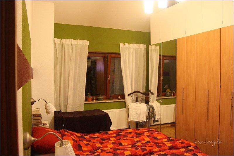 Selber Blick - im Querformat - so groß ist das Zimmer nicht ;-)