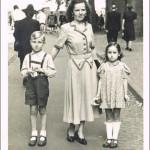 1948 mit meiner Mama
