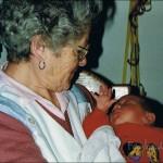 Dezember 1994 mit Marius