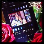 252 Monate ♥