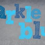 sparkle blue {color me happy 5/2013}