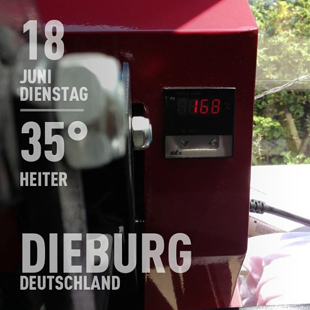 35 + 168 Grad *schwitz*