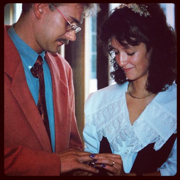 Heute vor 22 Jahren  #Hochzeitstag #Standesamt #1991 #Liebe #Ehe #Versprechen