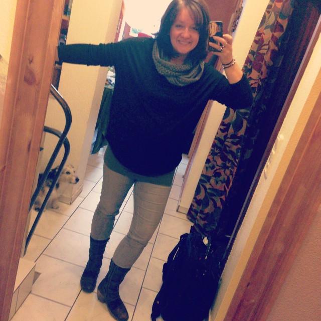 Erstesmal Stiefel, letztesmal lange Haare ^^ #haare #609060 #klamotten