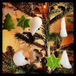 Selbstgemachter Weihnachtsbaumschmuck