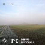 Sonne gegen Nebel 1:0 ;)