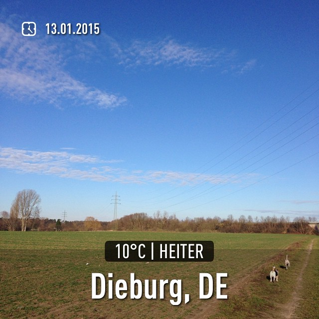 Was'n Wetterchen  #instaweather #wetter #dieburg #indermittagspause