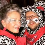 Fastnachtsamstag CruÄLA & ihrn Dalmatiner ^^