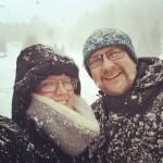 Schneeiger Ostermontag ;)