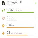 1.Tag mit neuem FitBit – es kann nur besser werden :D