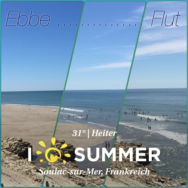 Ebbe ... Flut ... #urlaub #frankreich #meer #sommer #wohnmobil #clear #aquitanien