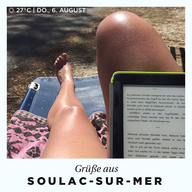 Grüße vom Atlantik #urlaub #frankreich #feelslike22grad #morgensollsregnen #soulacsurmer #day #summer #clear #aquitanien #wetter