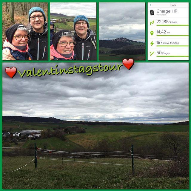 Wanderung 1/2016 *check* #owk #owkdieburg #wanderung #valentinstag #nachfastnachtwanderung