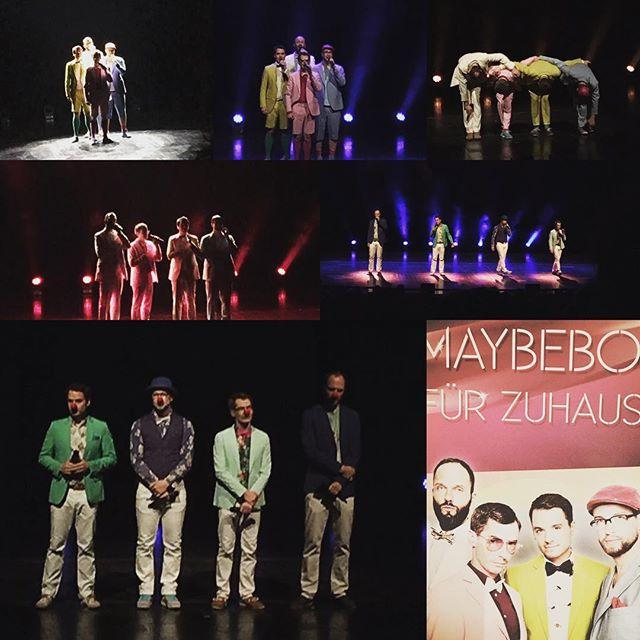 Maybebop - Das darf man nicht ... #maybebop #darmstadt #staatstheater #acappella #konzert #latergram #wieimmergenial