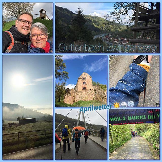Wanderung 5/2016 *check* #wanderung #owk #owkdieburg #mitschatzi #guttenbach #zwingenberg #15km #aprillwetter #sonne #hagel #regen #imwechsel #latergram
