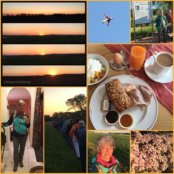 Wanderung 6/2016 *check* #wanderung #owk #owkdieburg #morgenwanderung #habitzheim #langstadt #12km #muttertag #frühstück #ohneschatzi