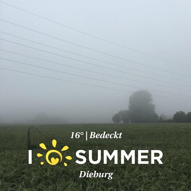 Finde den Fehler ... #Sommer #Wetter #eherherbst #instaweather #aufdemwegindenladen