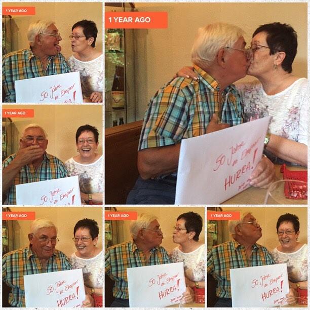 Alte Liebe rostet nicht <3 #liebe #ehe #eltern #mama #papa #vorbilder #habeuchlieb #51jahreverheiratet