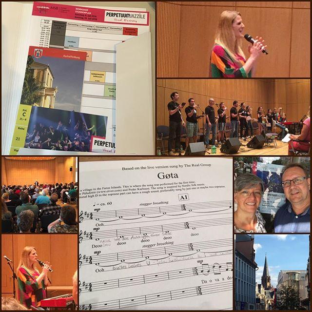 Workshop Perpetuum Jazzile Tag1 #workshop #perpetuumjazzile #maintalsaengerbund #aschaffenburg #sandrafeketija #singen #chor #coaching #acappella @perpetuumjazzile