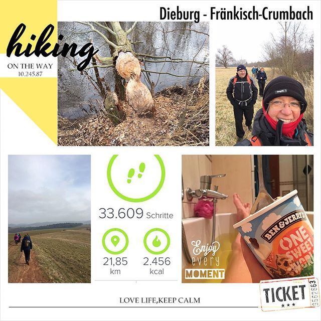 3. Wanderung 2017 #wandern #wanderung #owk #owkdieburg #21km #dieburg #fränkisch-crumbach #landgasthausreeg #leckeressen #jetztschlagkaputt