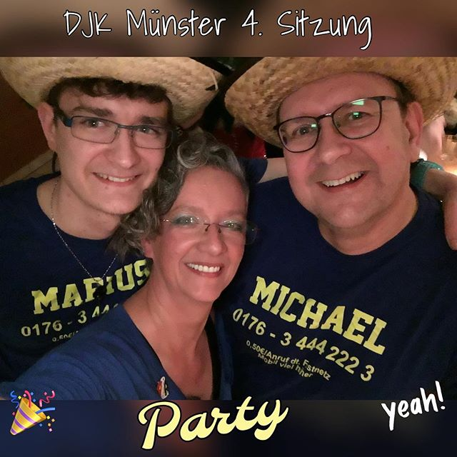 Party ... #djkmuenster #fastnachtssitzung #party